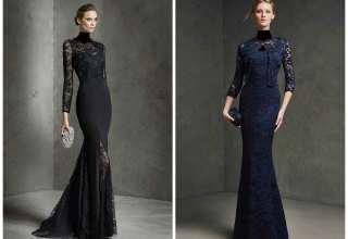 مدل لباس شب گیپور دخترانه و زنانه