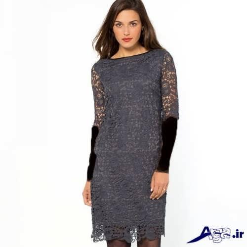 لباس شب کوتاه گیپور
