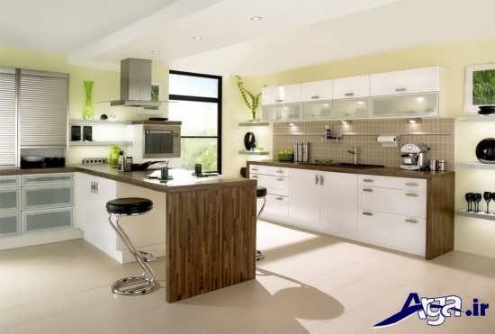 مدل دکوراسیون آشپزخانه با طراحی مدرن و زیبا