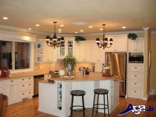 دکوراسیون داخلی آشپزخانه های کوچک و مدرن