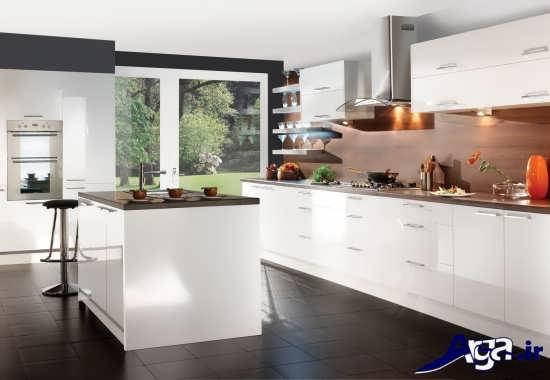 دکوراسیون داخلی زیبا و جدید آشپزخانه
