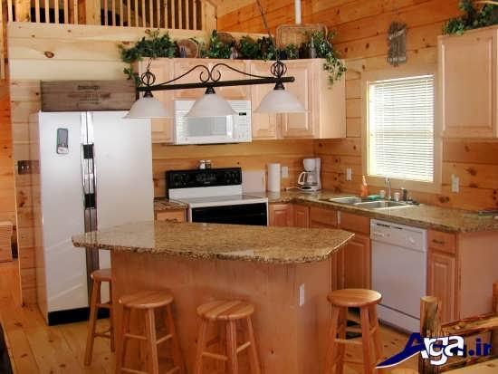 مدل دکوراسیون آشپزخانه کوچک با طراحی مدرن