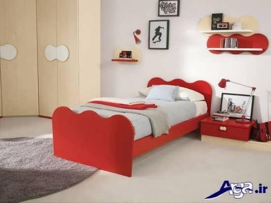 مدل تخت یک نفره با طرح های زیبا و شیک