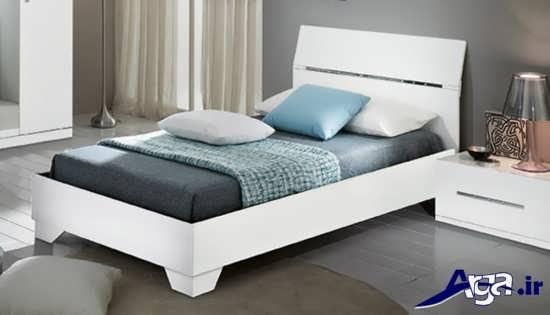 مدل تخت خواب یک نفره با طراحی های مدرن