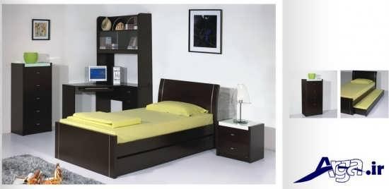 انواع مدل های زیبا و شیک تخت خواب یک نفره