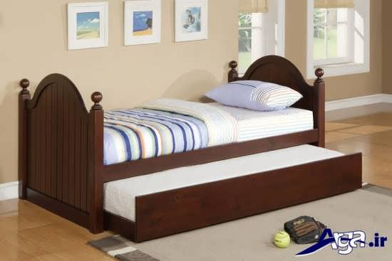 مدل تخت یک نفره مدرن و لوکس با طراحی جدید