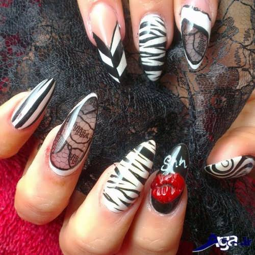 nail-designs-with-lace-fabric-10