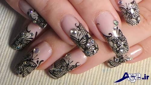 nail-designs-with-lace-fabric-18