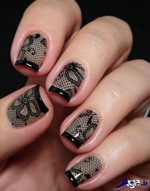nail-designs-with-lace-fabric-2