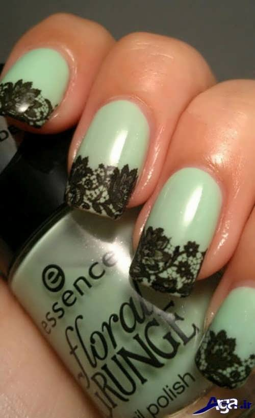 nail-designs-with-lace-fabric-5