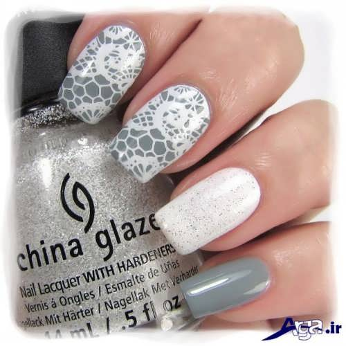 nail-designs-with-lace-fabric-6
