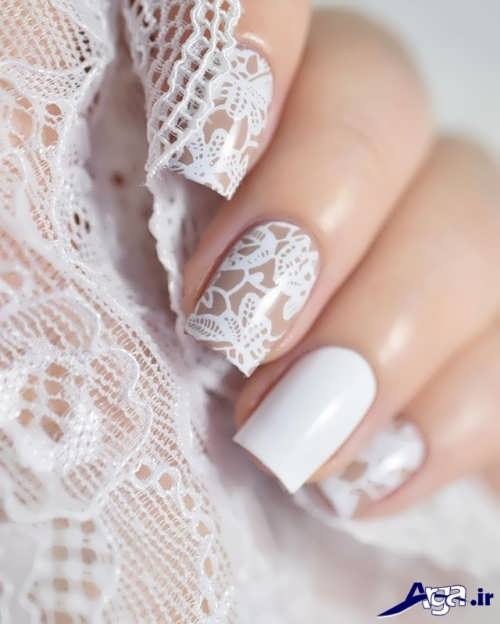 nail-designs-with-lace-fabric-7