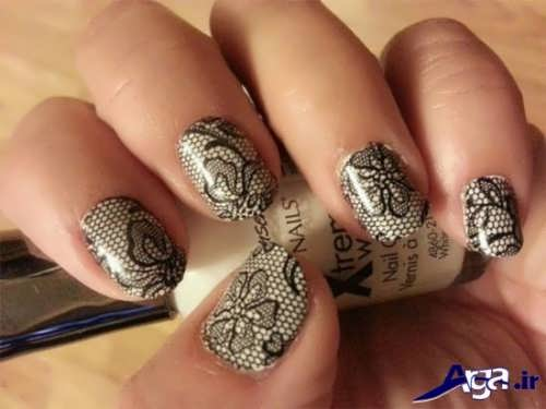 nail-designs-with-lace-fabric-9