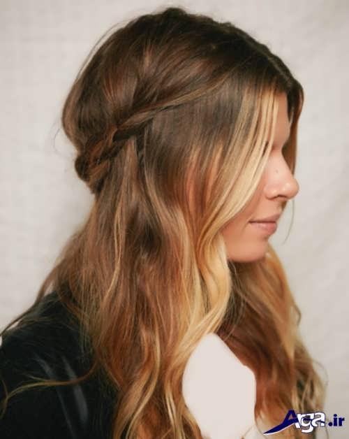 مدل موهای باز ساده و زیبا