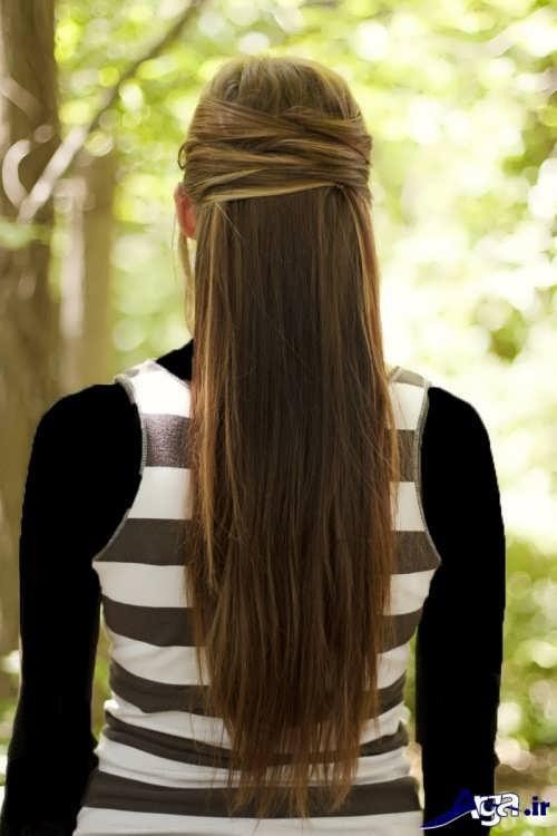 مدل موی ساده و جذاب زنانه