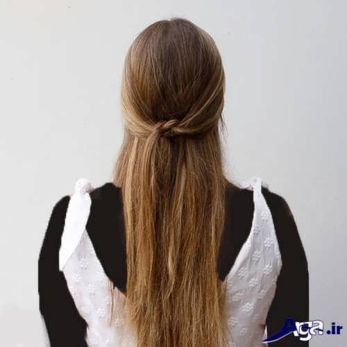 مدل موهای ساده مجلسی