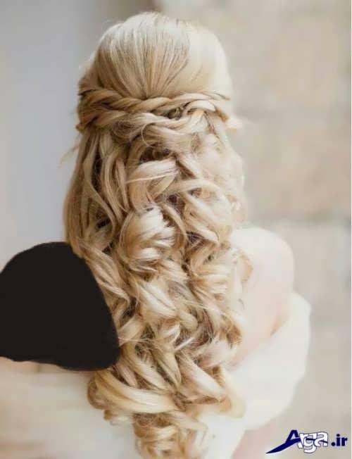 مدل موی باز زنانه برای عروسی