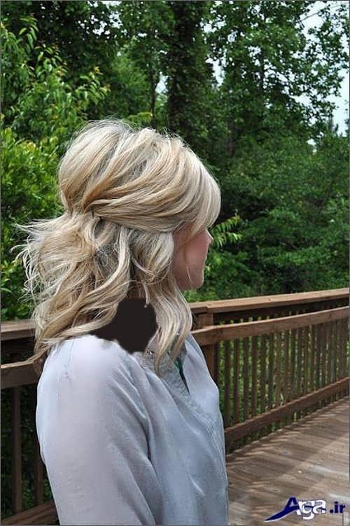 مدل موی باز زنانه کوتاه