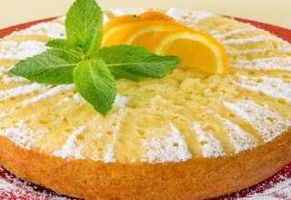 طرز تهیه کیک پرتقالی با بهترین روش در منزل