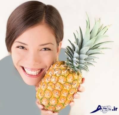 ماسک طبیعی آناناس