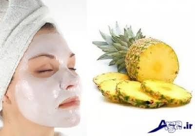 ماسک مفید آناناس