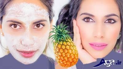 ماسک های مفید آناناس