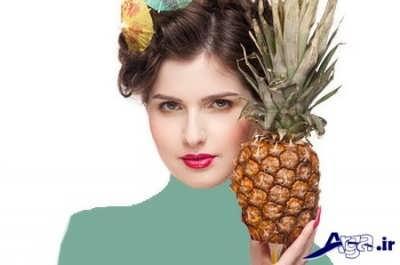 ماسک آناناس برای سلامت پوست