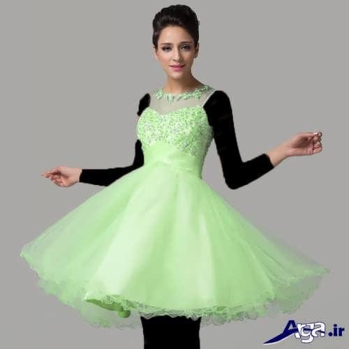 مدل لباس پرنسسی کوتاه