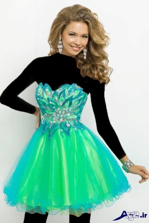انواع مدل لباس پرنسسی کوتاه دخترانه و زنانه