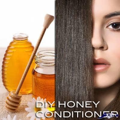 فواید عسل برای مو