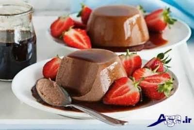 پاناکوتا شکلاتی خوشمزه
