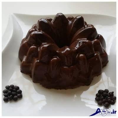 دسر پاناکوتا شکلاتی قالبی