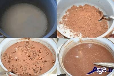 روش تهیه پاناکوتا شکلاتی در خانه