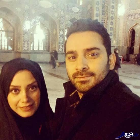 مرتضی علی آبادی و همسرش