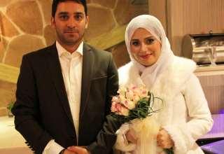 عکس صبا راد و همسرش