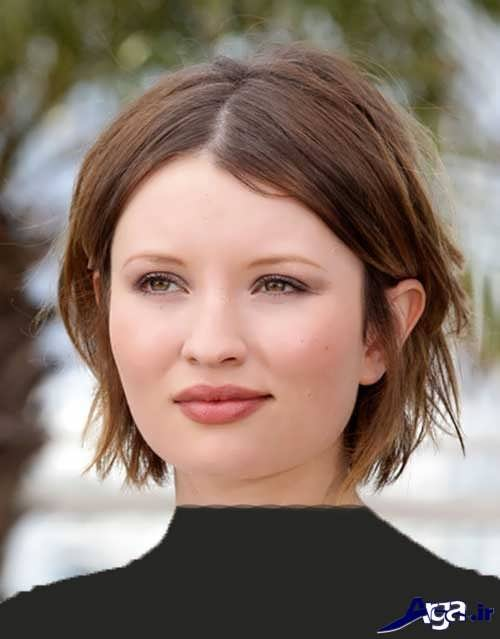 مدل موهای زنانه و دخترانه برای صورت گرد