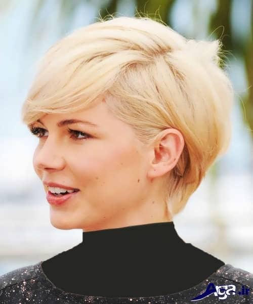 مدل موی زنانه کوتاه جدید و زیبا