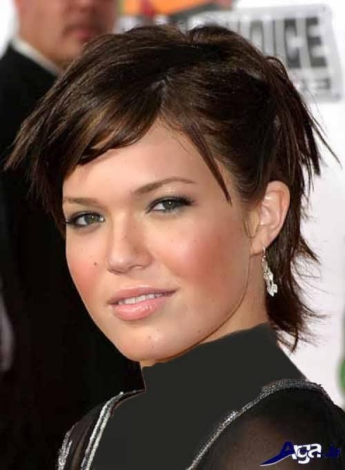 مدل موی زنانه زیبا برای صورت های گرد