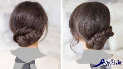 مدل موی بسته ساده زیبا و جدید