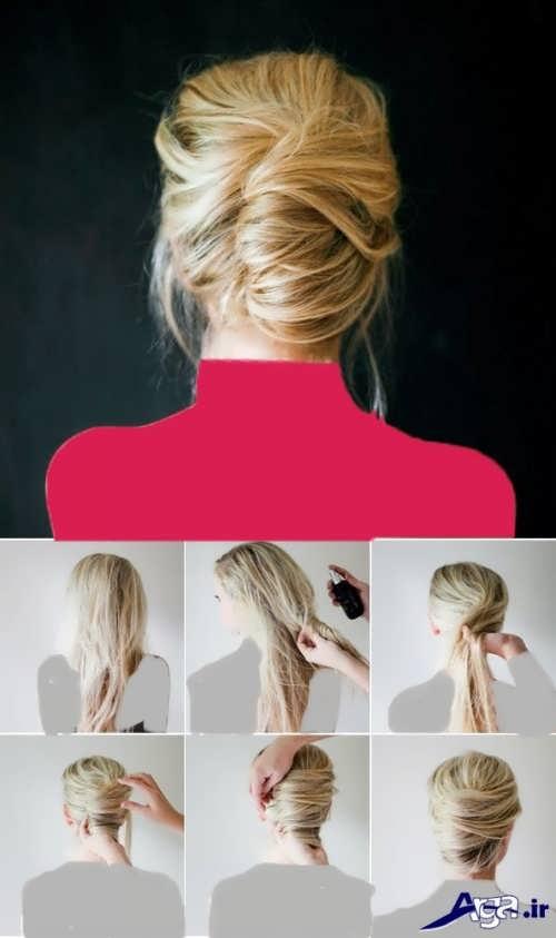 آموزش بستن مو در خانه