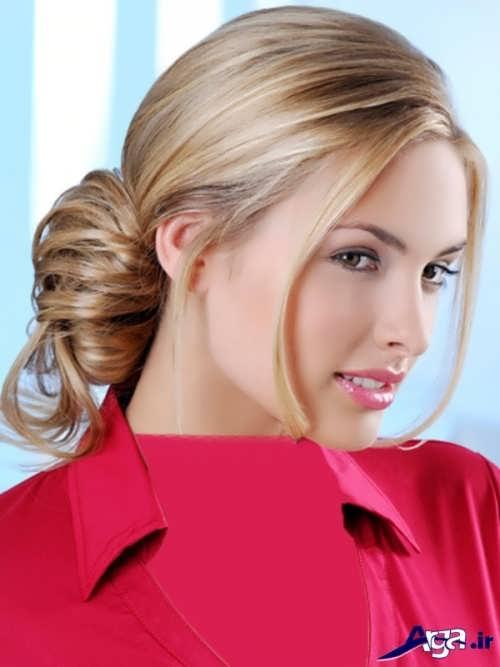 مدل موی ساده بسته