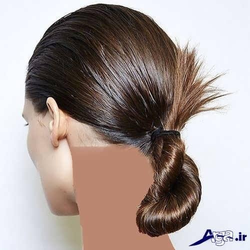 انواع مدل موی ساده بسته