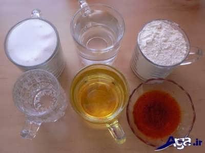 مواد لازم برای تهیه حلوای ساده