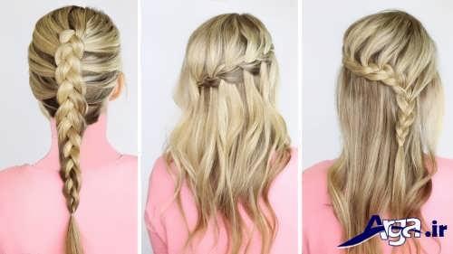انواع مدل موی ساده برای مهمانی ها و مجالس مختلف
