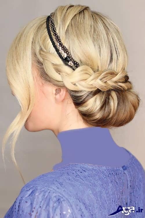 مدل موی بسته مجلسی ساده