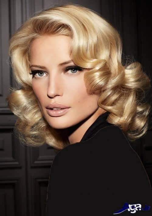 مدل موی فر کوتاه زنانه