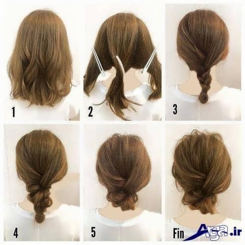 مدل موی ساده برای مهمانی گه شما را جذاب می کند