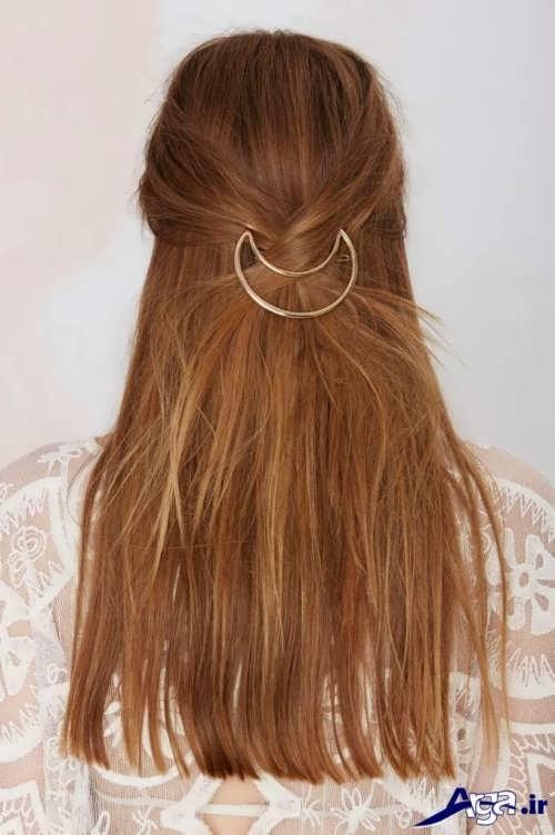 مدل موی باز ساده و شیک