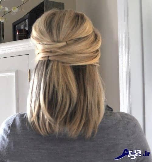 مدل موی کوتاه و ساده