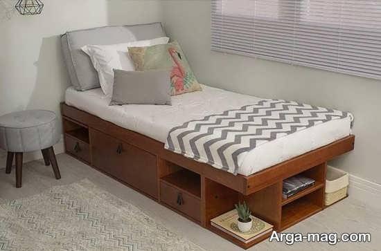 مدل تخت تک نفره مدرن
